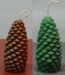 Forest Pine Cone Candle
